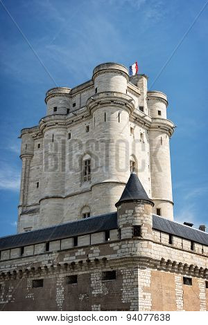Vincennes Castle in Paris, France
