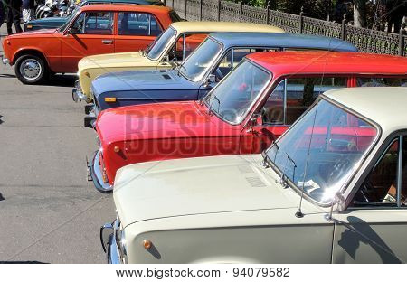 Retro Cars Of USSR Lada