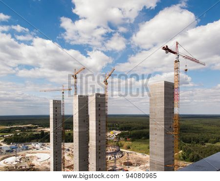 Construction Of High Industrial Facility