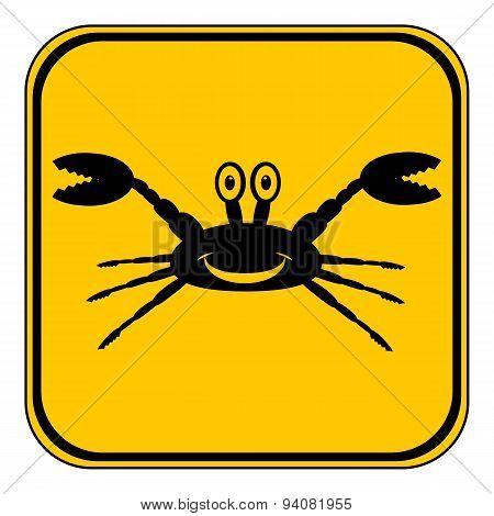 Crab Button.