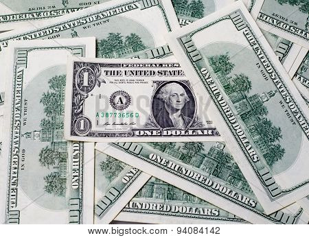 One Dollars In The United States Of America