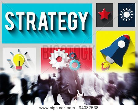 Strategy Start up Creativity Inspiration Launch Concept