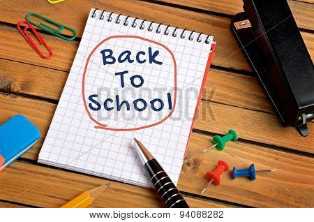 Back To School Word