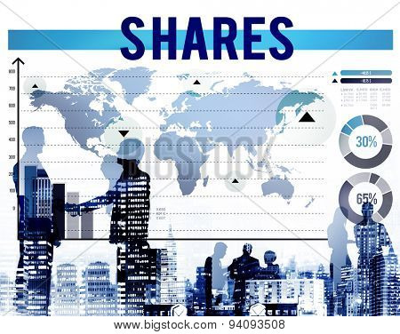 Shares Shareholder Contribution Dividend Part Concept