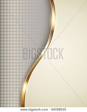 Business background beige, elegant vector illustration.