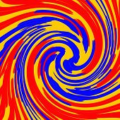 picture of swirly  - Abstract swir and spiral background for your design - JPG
