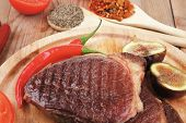 stock photo of cayenne pepper  - meat entree  - JPG