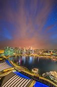 pic of marina  - Singapore Skyline and view of skyscrapers on Marina Bay - JPG