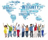 picture of integrity  - Integrity Honesty Sincerity Trust Reliability Concept - JPG