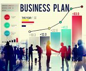 foto of objectives  - Business Plan Planning Strategy Success Objective Concept - JPG