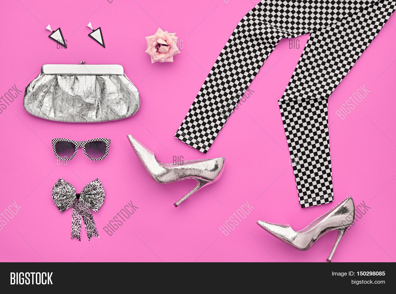 Fashion Woman Clothes Accessories Set Fashion Design