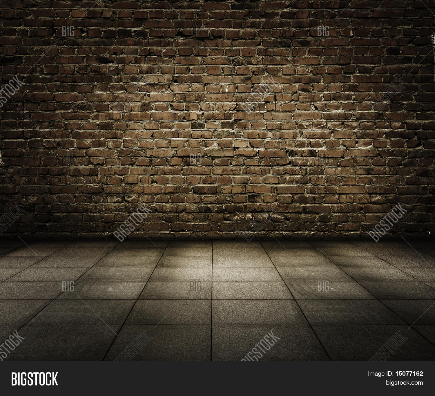 Old Grunge Interior With Brick Wall Stock Photo Stock Images Bigstock