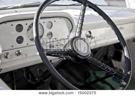 Classic Pickup Truck Interior