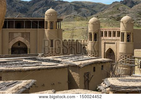 Old Oriental Antique Fortress