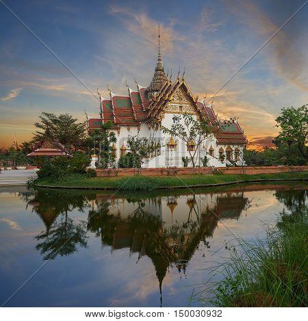 Replica Of Dusit Maha Prasat Palace, Ancient Cityf Bangkok