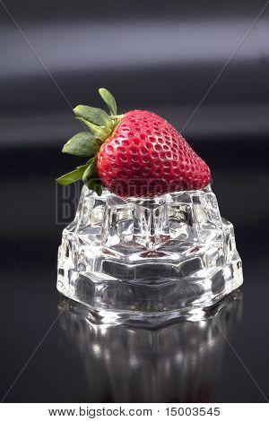 Studio Shot Of A Strawberry.