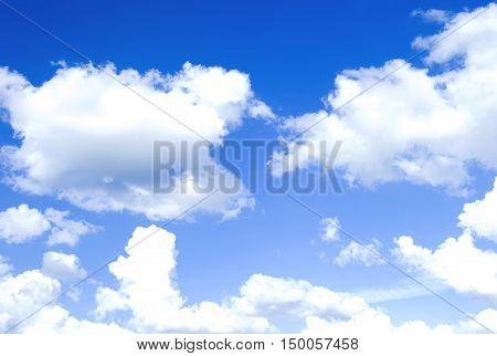 blue sky background with tiny clouds,overcast, precipitation, scenic, season, seasonal,