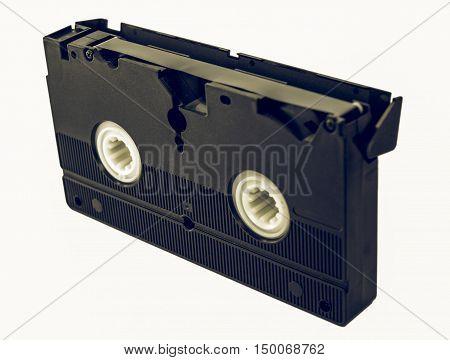 Vintage Looking Video Tape