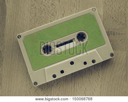 Vintage Looking Tape Cassette