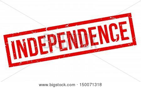 Independence Rubber Stamp