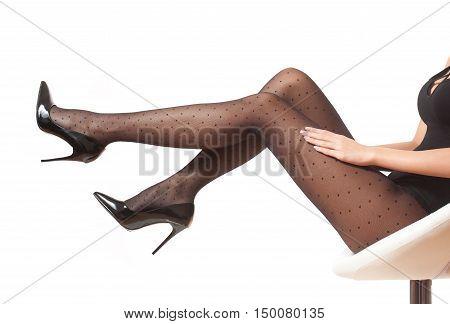 Heavenly Legs In Tights.