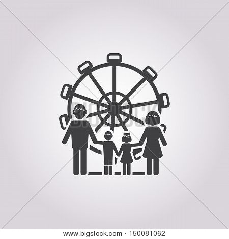 carousel icon on white background for web