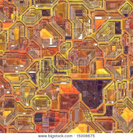 Abstract high tech circuitry technology background wallpaper illustration