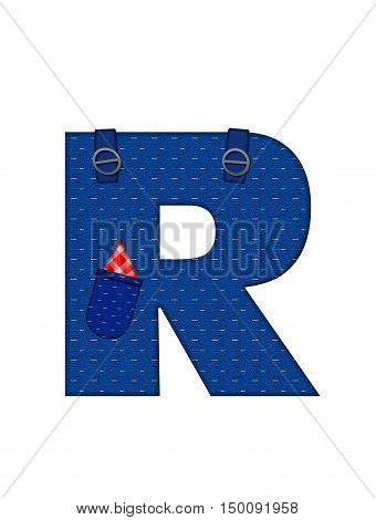 Alphabet Farmer Brown R