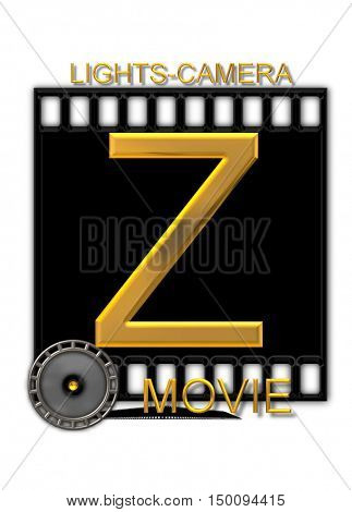 Alphabet Movie Buff Z
