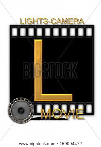 Alphabet Movie Buff L
