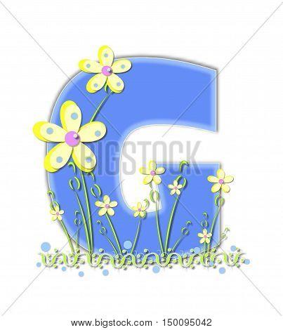 Alphabet Yellow Daisies G
