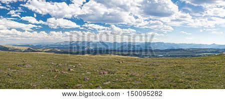 Beartooth Highway Panoramic