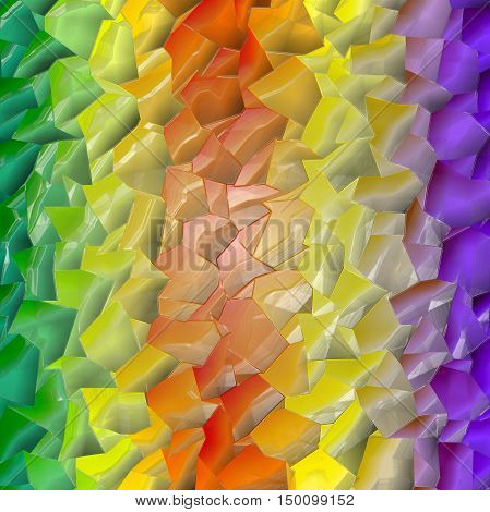 Abstract coloring background of the pastels gradient with visual lighting, mosaic and plastic wrap effects.Good for your project design