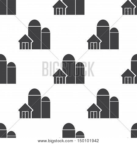 granaries icon on white background for web