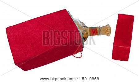 Bottle In The Red Velour Box