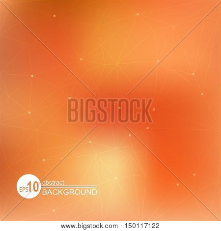 Abstract background with light red and scarlet spots.