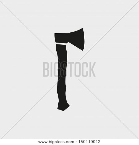 ax icon stock vector illustration flat design