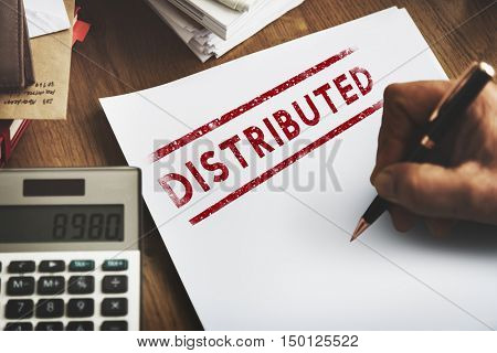 Distributed Dealing Arrangement Spread Supply Concept