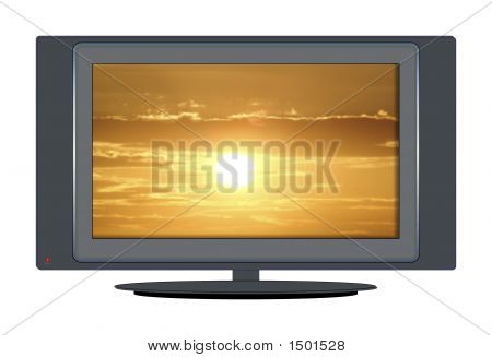 Tv Sunset