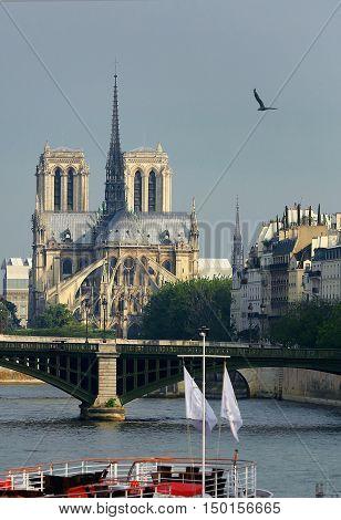 The Notre Dame de Paris. France