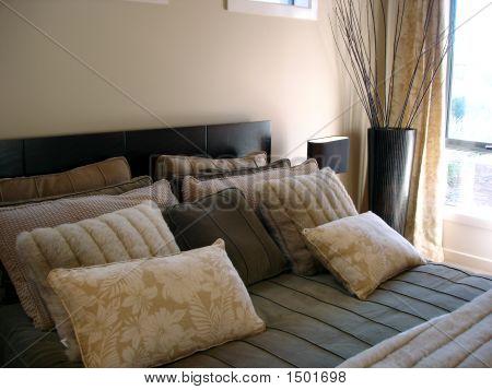 Masculine Bedroom Closeup