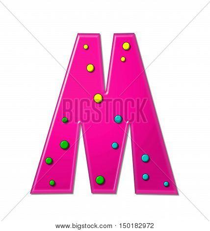Alphabet Polka Dot Party M