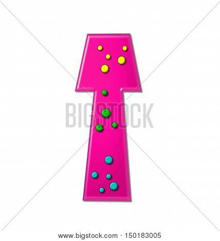 Alphabet Polka Dot Party T