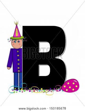 Alphabet Children Birthday Celebration B