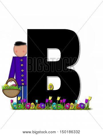 Alphabet Children Easter Egg Hunt B