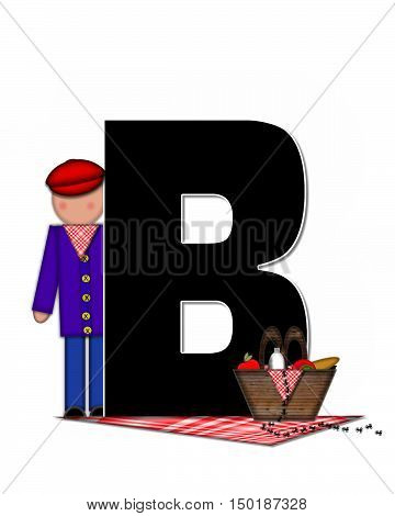 Alphabet Children Picnic B