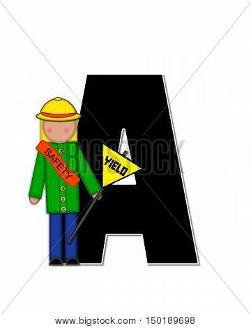Alphabet Children School Patrol A