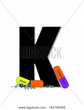 Alphabet Wellness Check K