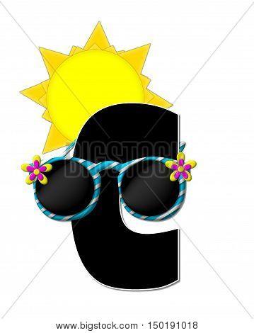 Alphabet Sun Shades C
