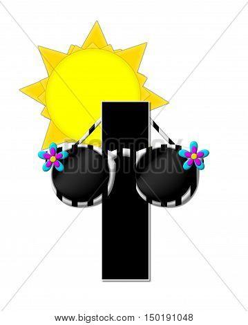 Alphabet Sun Shades I